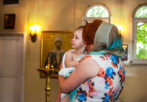 фото крещения