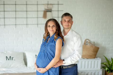 оригинальные фотосессии беременных с мужем