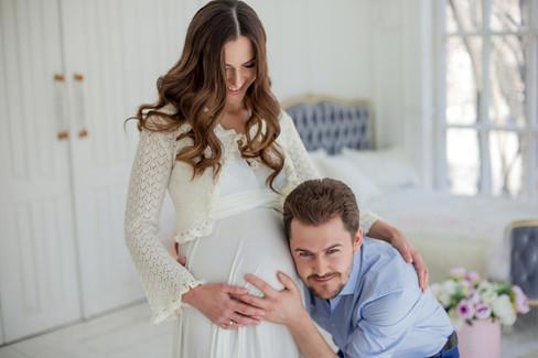 фотосессия беременных с мужем фото