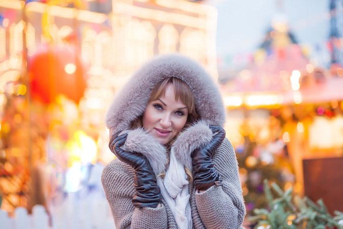 женская фотосессия на улице