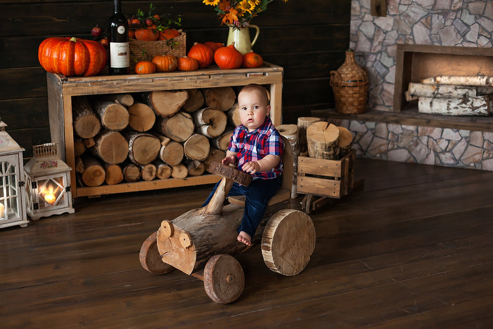 фотосессия дома на годик ребенка