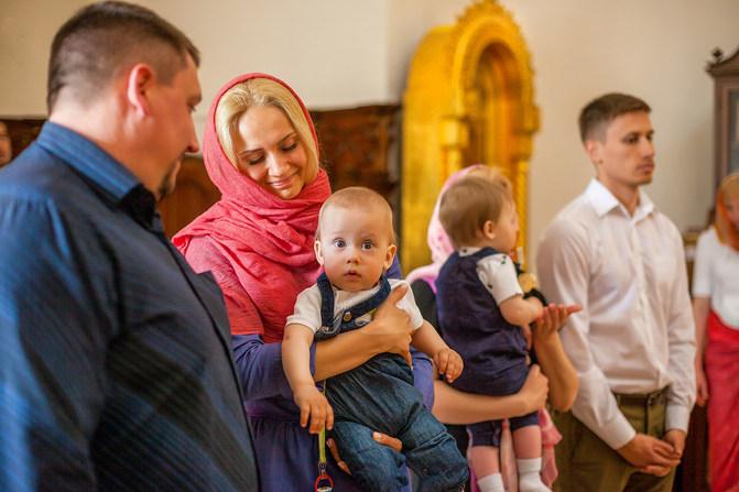 фотосессия крещения ребенка