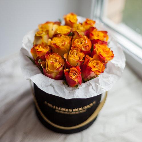 купить цветы в коробках