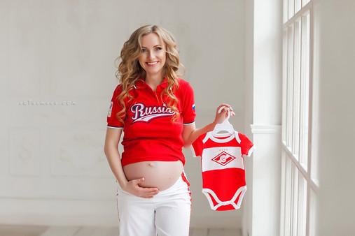 беременные фотосессии в студии фото