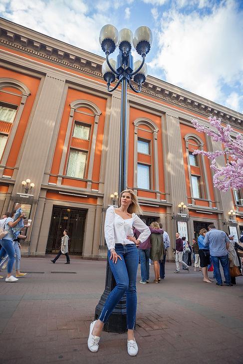 уличная фотосессия в москве