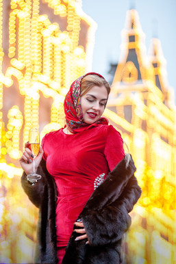 новогодние фотосессии на красной площади