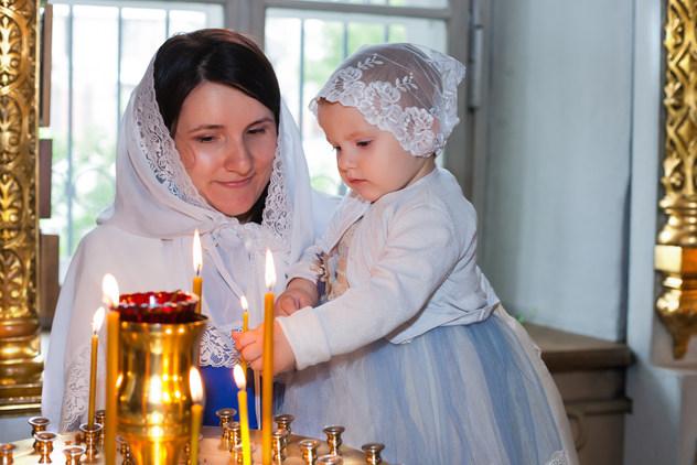 фото крестин ребенка