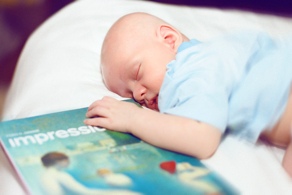 младенец фотосессия
