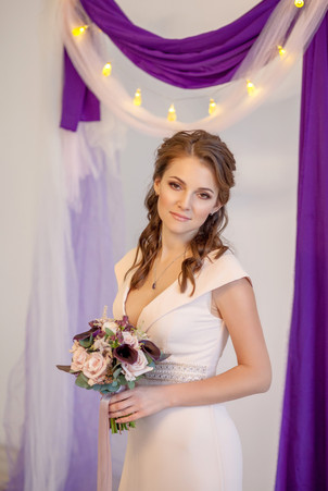 свадебный фотограф в студии