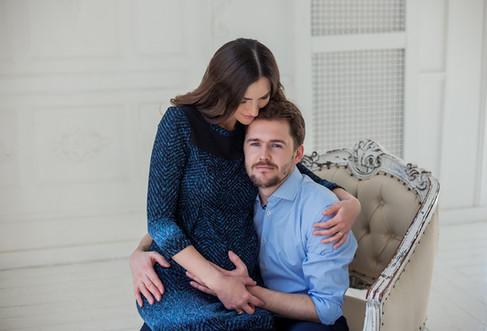 фотосессия беременной с мужем недорого