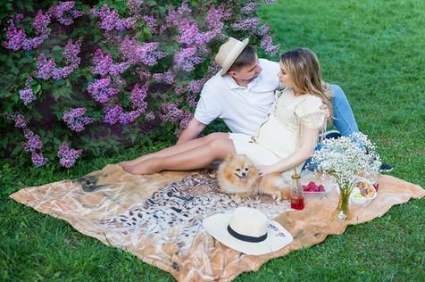 беременная девушка с мужем фотосессия
