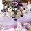 Thumbnail: Композиция на столы гостей в фиолетовой гамме