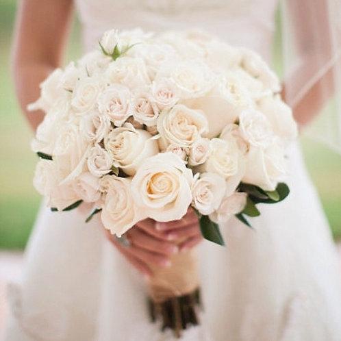 Букет невесты в пудровых оттенках