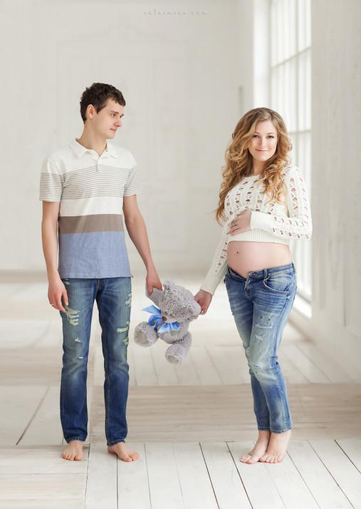 профессиональная фотосессия беременных