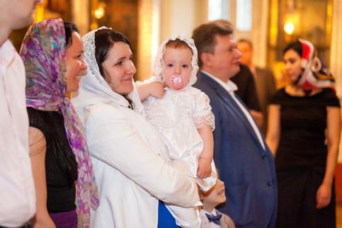 ребенок крещение