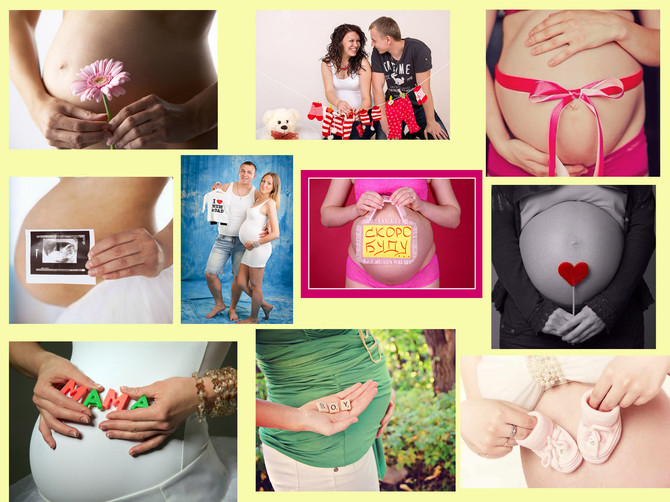 Аксессуары для фотосессии для беременных!