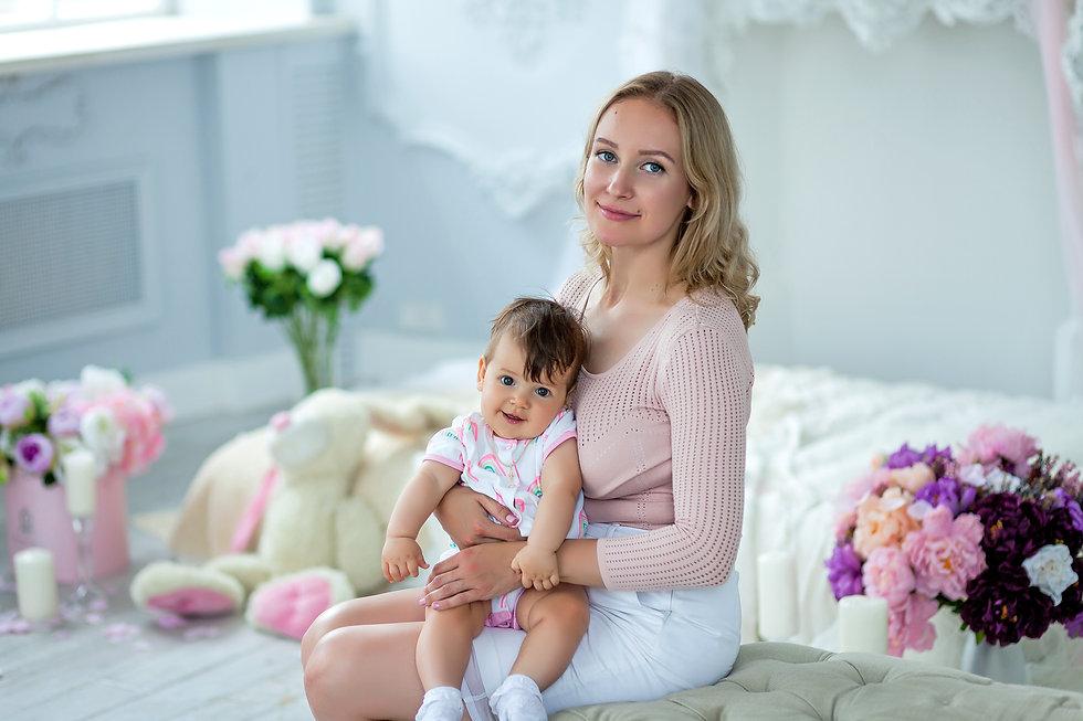 фотосессия ребенка 10 месяцев
