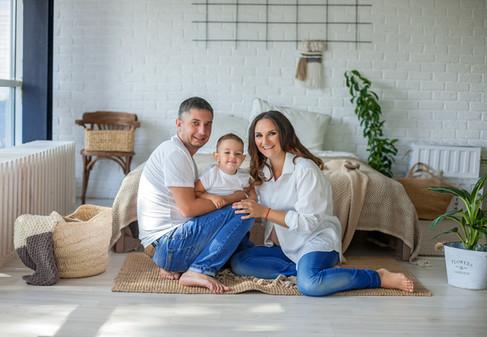 фотосессия беременных с мужем на кухне