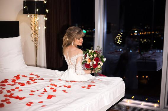 свадебная фотосессия в номере