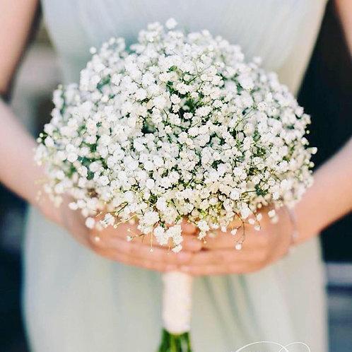 Букет невесты из гипсофила