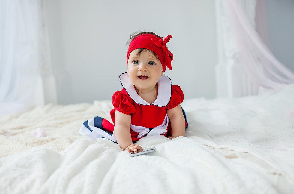 фотосессия ребенка 7 месяцев