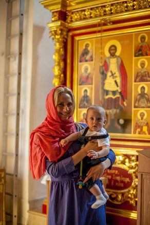 фотограф на крещение ребенка