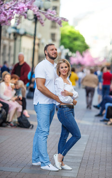 уличная фотосессия для двоих