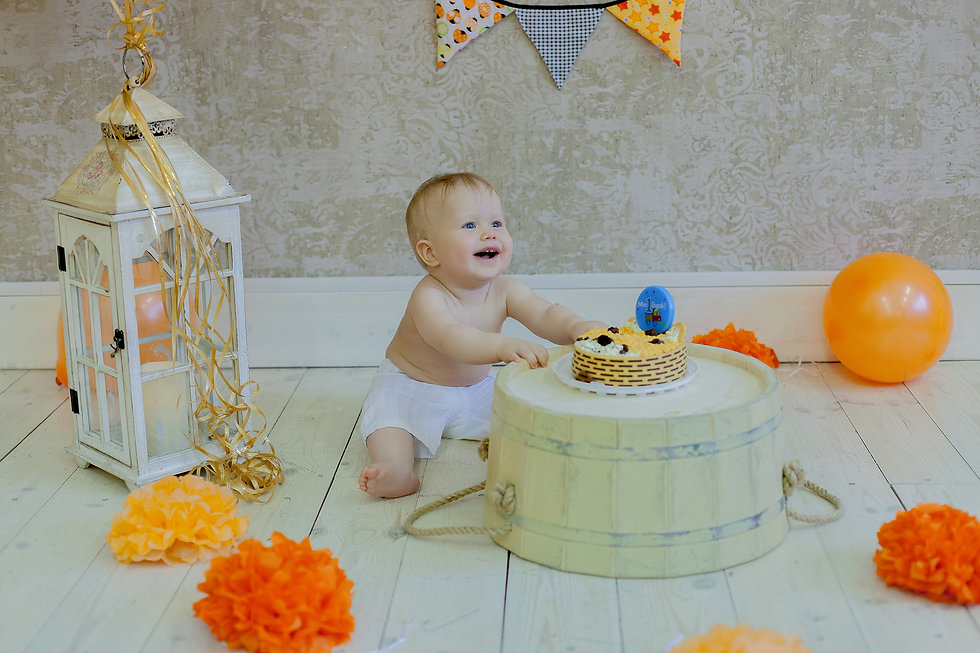 фотосессия дома день рождения