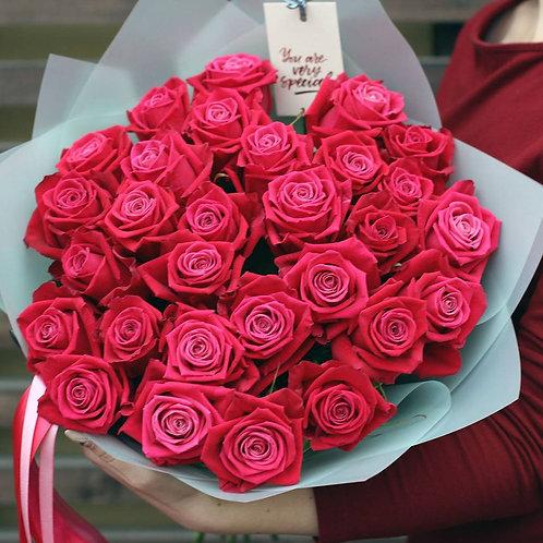 Букет роз Шангрила