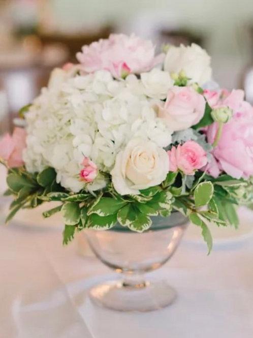 Цветы на столы гостей