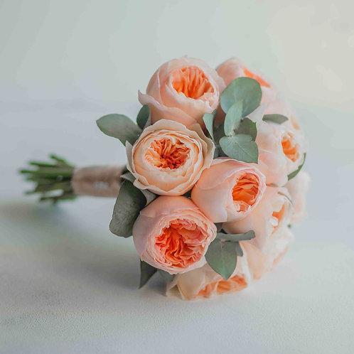 Букет невесты из роз Джульетта