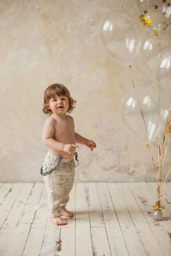 фотосессия годовасия мальчика