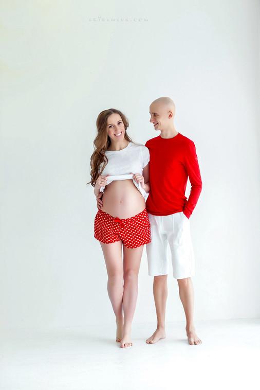 стильные фотосессии беременных