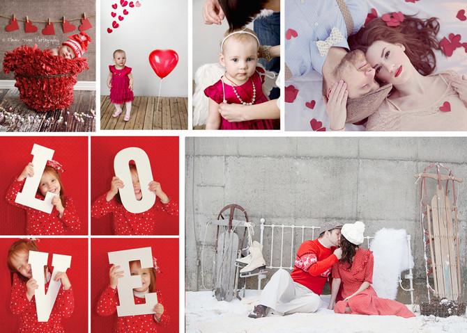Идеи для фотосессии к Дню Святого Валентина