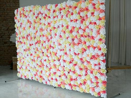 Стена из цветов на мероприятие