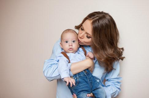 беременная фотосессия дома