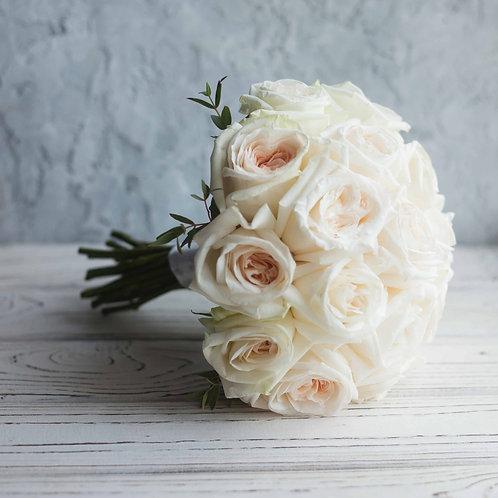 букет невесты из вайт охара