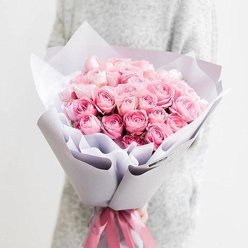Букет из пионовидных роз Peony Roses