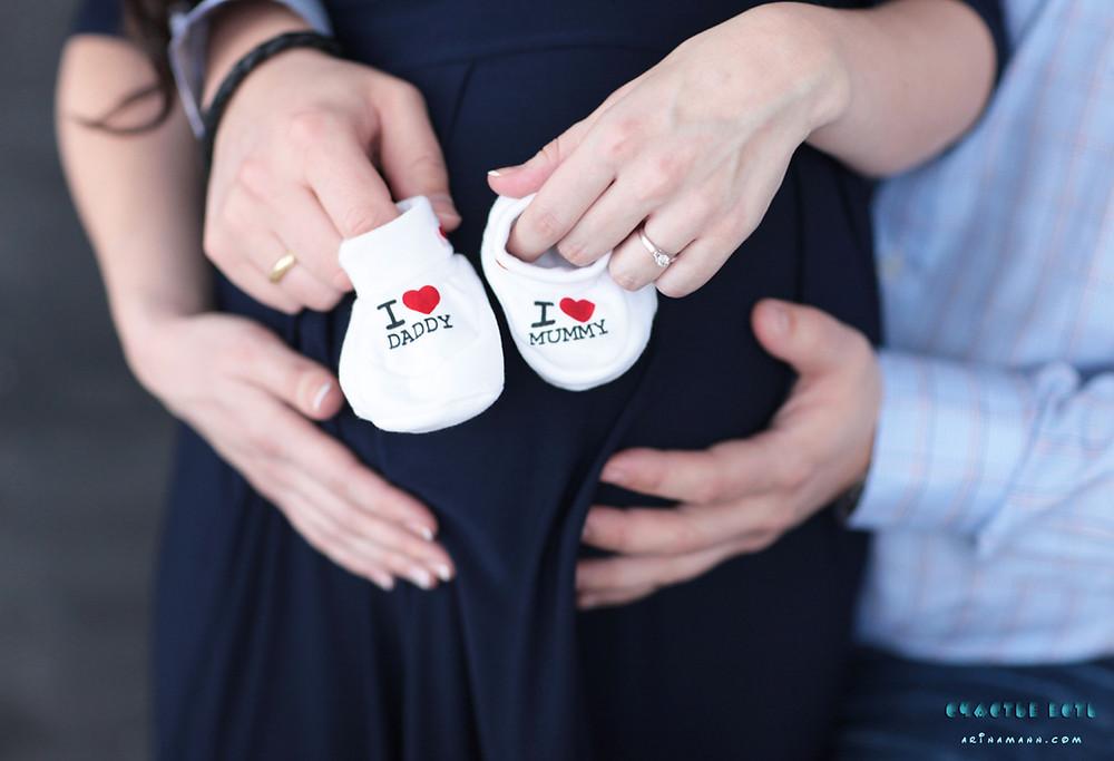 интересные фотосессии беременных