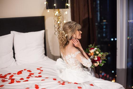 свадебная фотосессия в студии фото