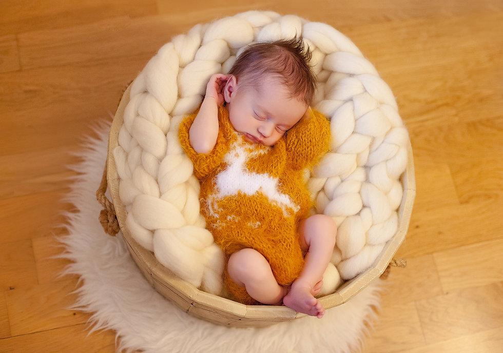 идеи фотосессии новорожденных