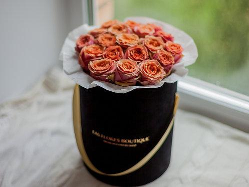 цветы в шляпных коробках фото