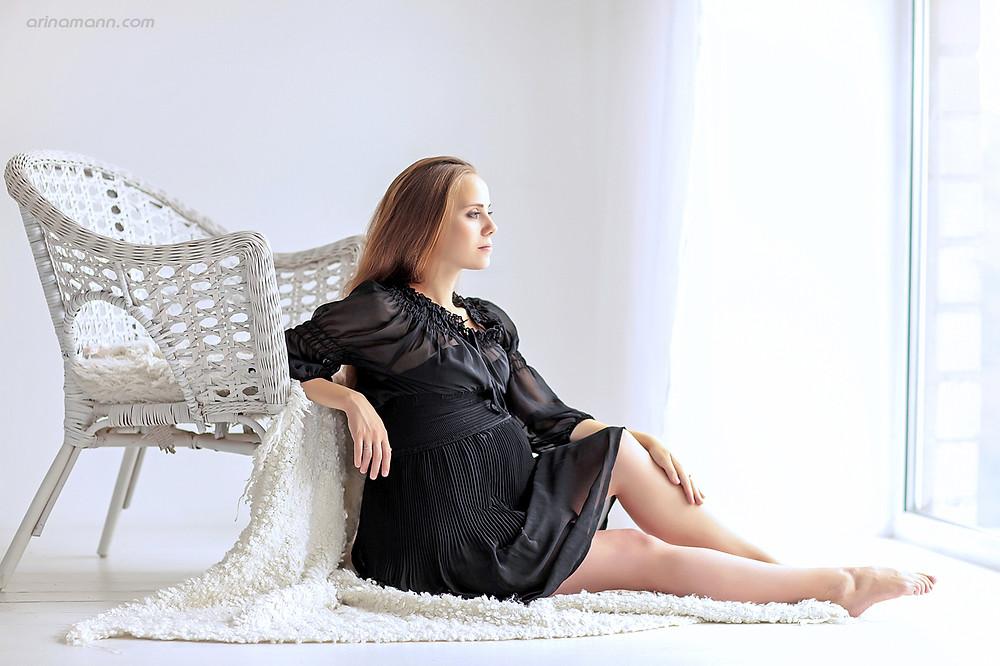 беременность фотосессия москва