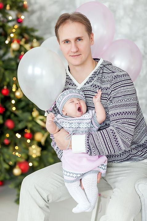 фотосессия ребенка 7 месяцев на дому