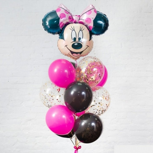 воздушные шары с мини маус