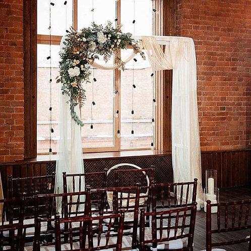 Цветочная арка на свадьбу