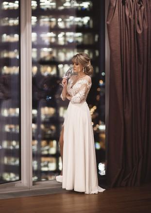 студийные свадебные фотосессии