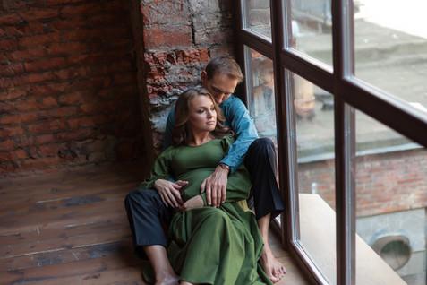 фотосессия муж и беременная жена