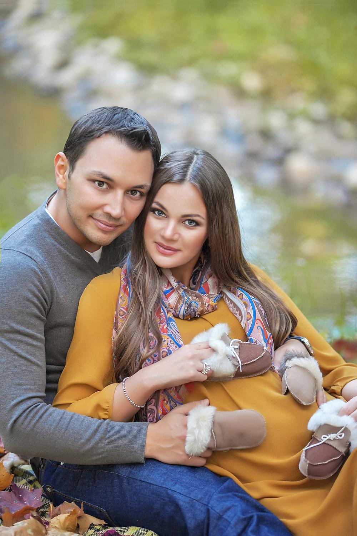 фотосессии беременных пар