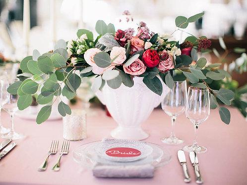 Композиции на столы гостей свадьба